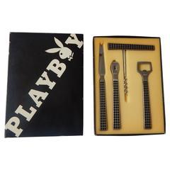 1960s, Playboy Bar Utensil Set
