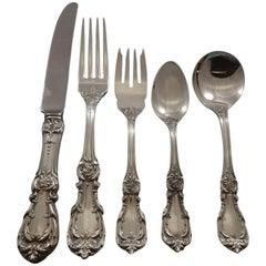 Burgundy by Reed & Barton Sterling Silver Flatware Set 12 Service Dinner 65 Pcs
