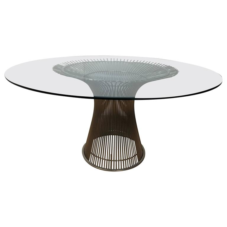 Warren Platner Dining Table For Sale at 1stdibs : 6360983l from www.1stdibs.com size 768 x 768 jpeg 23kB