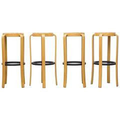 Set of Four Danish Bar Stools