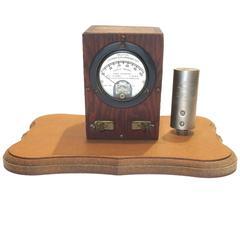 Weston Thermo Galvanometer Sculpture Circa 1922 W/ Electric Thermocouple ON SALE