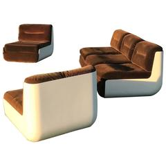 Lounge Set Late 1960s by Rodolfo Bonetto and Giotto Stoppino