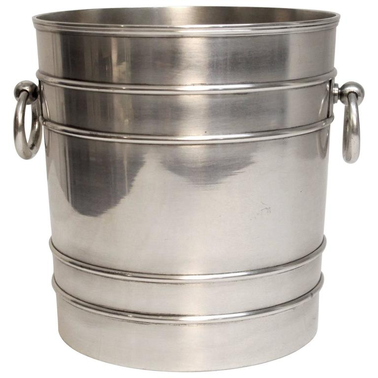 Neoclassical Style Silver Plate Champagne Ice Bucket