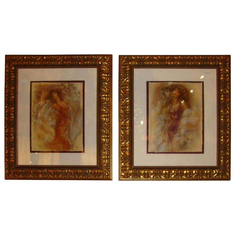 Pair of Prints by Peter Nixion Signed and Numbered