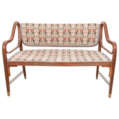Otto Wagner Bench for J&J Kohn
