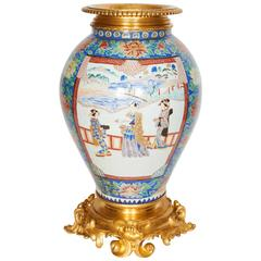 Louis XV Style Ormolu-Mounted Asian Porcelain Vase