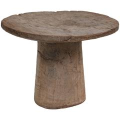 African, Malinke, Guinea Ceremonial Wedding Stool,  to display  Bridal Presents