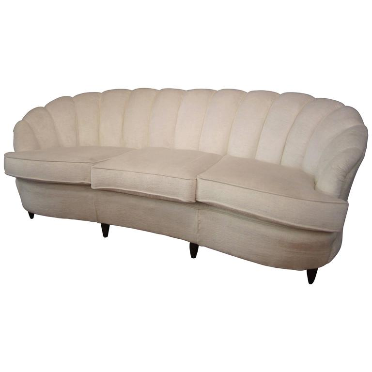 italian mid century sofa in the style of cesare lacca at