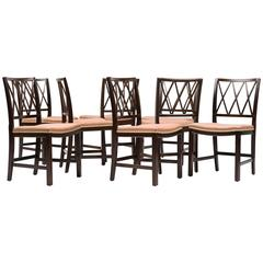 Ole Wanscher Set of Eight Rosewood Dining Chairs for A. J. Iversen