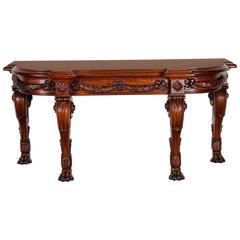 George IV Irish Regency Console Table