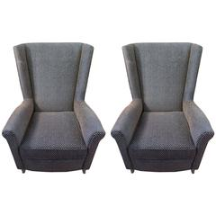 Pair of Mid-Century Armchairs