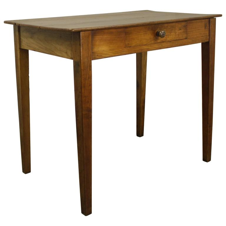 Cherry Side Table ~ Antique cherry side table for sale at stdibs