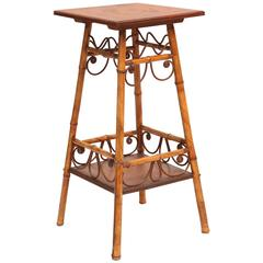 Superb 19th Century Bamboo Stand