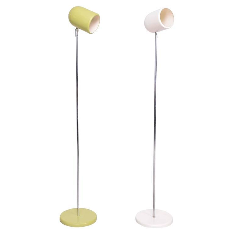 Pair of Mid-Century Floor Lamps
