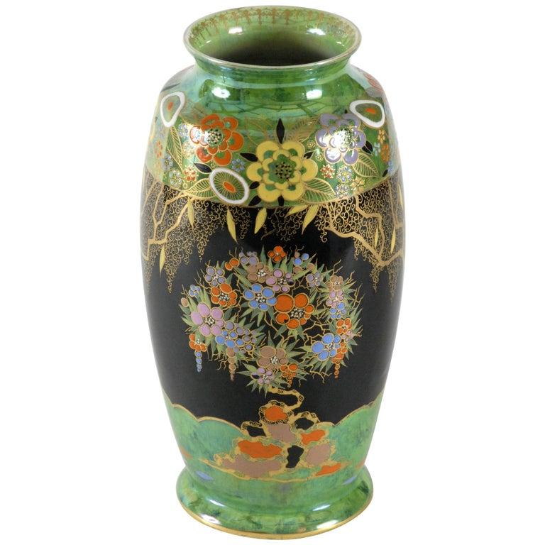 Carlton Ware Mandarin Tree Vase England, circa 1935