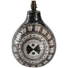 Bitossi Londi Designed 'Moderna Marocco' Lamp Base, Italy, circa 1974