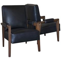 1950s Maxime Old Pair of Armchairs