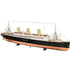 Unique Builder's Model of Ocean Liner S/S 'Imperator' 'Berengaria'