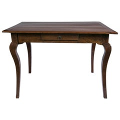 Walnut Writing Table, 19th Century, France