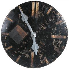 Architectural Clock Face, France, circa 1920