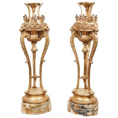 Pair of Late 19th Century Louis XVI Style Torchieres