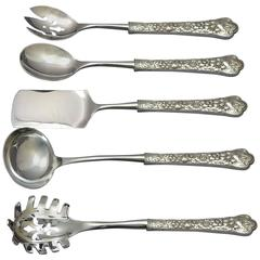 Cluny by Gorham Sterling Silver Hostess Set Custom Made Five-Pc HHWS