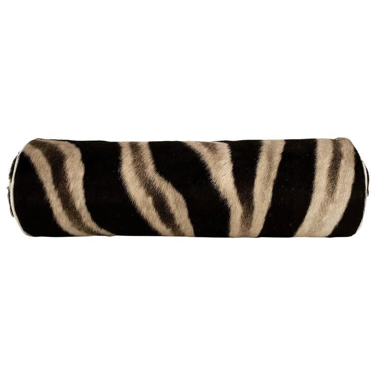 Zebra Hide Bolster - 104