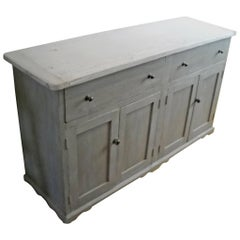 4 door two drawer dresser base