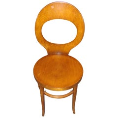 Small Bentwood Deco Sidechair