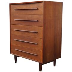 Widdicomb Sculpted Highboy Chest of Drawers Dresser Manner of George Nakashima