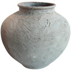 Primitive Antique Terra Cotta Jar