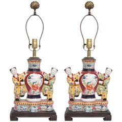 Asian Figurine as Table Lamp