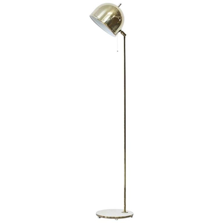 "1960s Floor Lamp Model ""G-075"" by Bergboms"