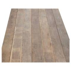 Reclaimed Teak Floor Boards Between 100 and 150 Years Old