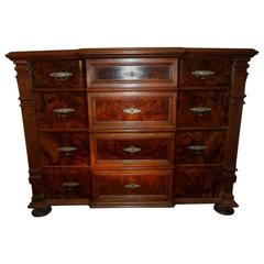Unique Dresser in Walnut from Year, 1880