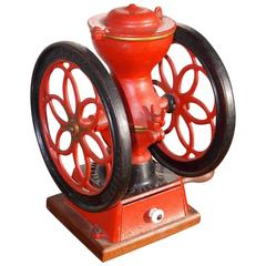 American Cast Iron and Painted Coffee Mill, Enterprise Mfg Co, Phil, Circa 1888