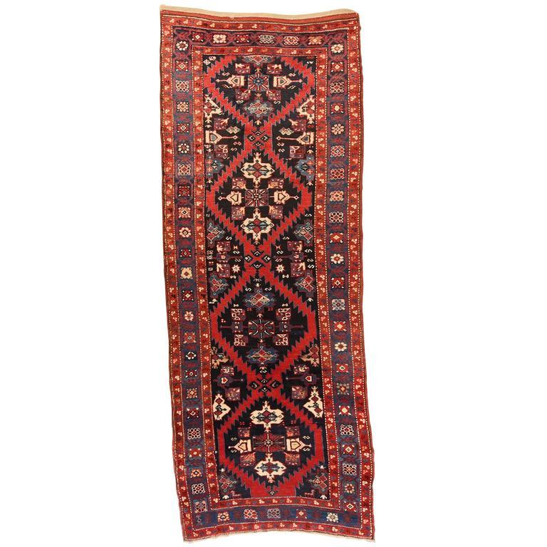 Armenian Antique Rugs: Rare Antique Armenian Karabagh Church Runner At 1stdibs