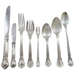 Chantilly by Gorham Sterling Silver Flatware Set 12 Service Dinner 111pc Huge