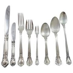 Chantilly by Gorham Sterling Silver Flatware Set 12 Service Dinner 111pc Huge