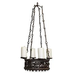 Antique Chandelier, Iron