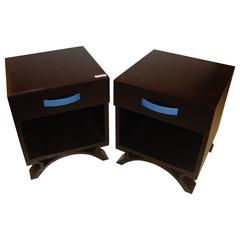 Pair of Dakota Jackson End Tables Night Tables