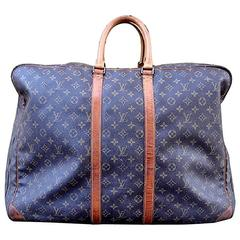 "Louis Vuitton ""Alize"" Travel Bag of Monogram Canvas"