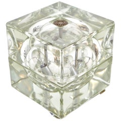 Italian Cubosfera Table Lamp by Alessandro Mendini