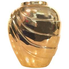 Brass Vase Imported by Rosenthal Netter