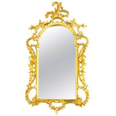 Superb Decorative Italian Giltwood Decorative Mirror