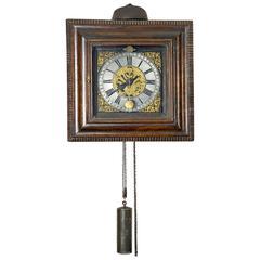 Good 18th Century German So Called Ramen Uhr Signed Johann Friedrich Rick