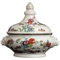Meissen Porcelain Terrine with a Kaikemon Decoration, circa 1728