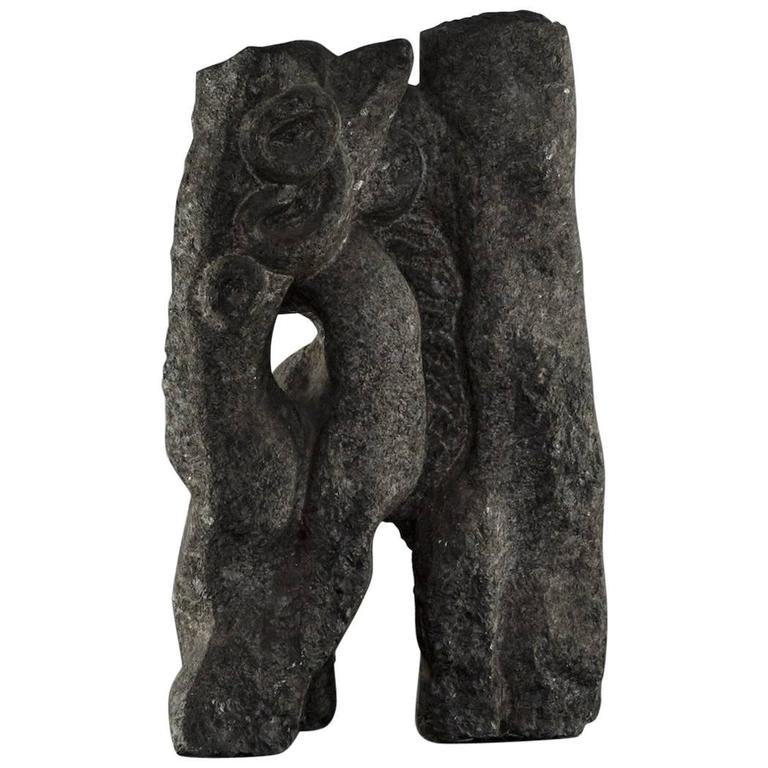 Abstract Sculpture in Granite 1