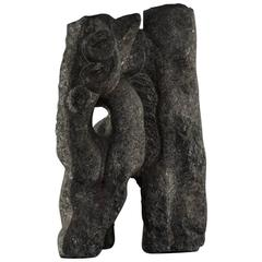 Abstract Sculpture in Granite