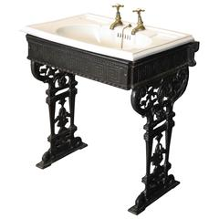 Victorian Sink/Basin on Stand
